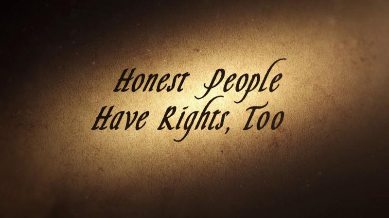 Poctiví ľudia majú tiež práva 1